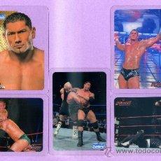Trading Cards: 10 LAMINCARDS DE PRESSING CATCH DE MUNDICROMO MIRATELAS ESTAN A ESTRENA. Lote 33910103