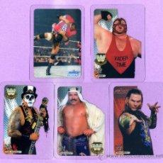 Trading Cards: 10 LAMINCARDS DE PRESSING CATCH DE MUNDICROMO MIRATELAS ESTAN A ESTRENA. Lote 33912988