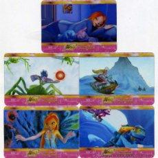 Trading Cards: 10 LAMINCARDS DIFERENTES DE WINX CLUB DE MUNDICROMO NUEVAS MIRALAS DENTRO. Lote 33975730