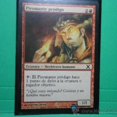 Trading Cards: CARTA MAGIC PIROMANTE PRODIGO. Lote 34459725