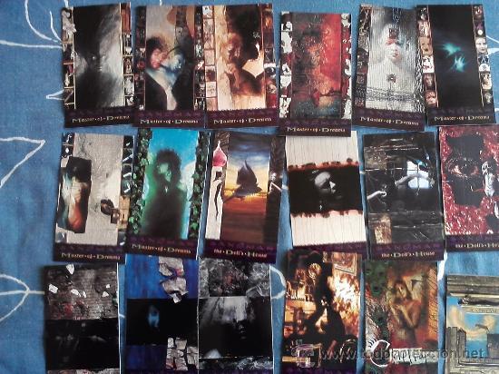 SANDMAN TRADING CARDS SKYBOX COLECCION COMPLETA 90 CARDS (Coleccionismo - Cromos y Álbumes - Trading Cards)