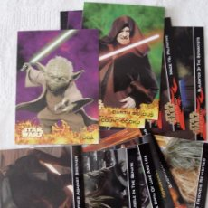 Trading Cards: LOTE DE 46 CARDS DE LA COLECCION REVENGE OF THE SITH. NINGUNA REPETIDA. .. Lote 34998627