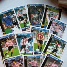 Trading Cards: 12 TRADING CARD ATH. CLUB DE BILBAO - LFP MARCA. Lote 16722392
