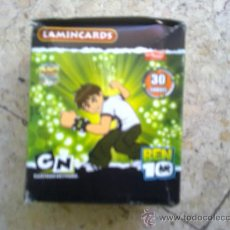 Trading Cards: LOTE DE 5 CAJAS DE SOBRES SIN ABRIR BEN10 LAMINCARDS MUNDICROMO. Lote 40354087