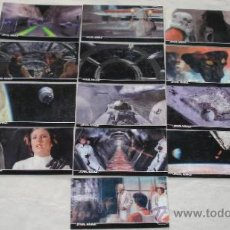 Trading Cards: STAR WARS 3D: A NEW HOPE. LOTE DE 13 CARD´S CON FANTASTICO EFECTO TRIDIMENSIONAL. .. Lote 35827564
