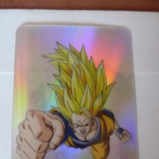 Trading Cards: LAMINCARD DRAGON BALL Z PLATINUM-NUM 43 SUPER SAIYAN. Lote 36010757