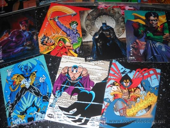 Trading Cards: BATMAN SKYBOX TRADING CARDS. COMPLETA - Foto 1 - 36790280