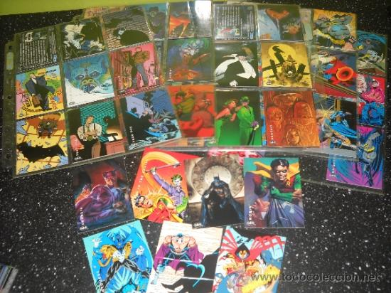 Trading Cards: BATMAN SKYBOX TRADING CARDS. COMPLETA - Foto 2 - 36790280