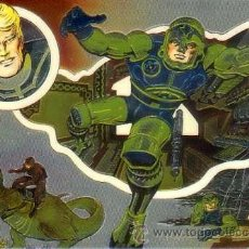 Trading Cards: JACK KIRBY THE UNPUBLISHED ARCHIVES CHROMIUM CHASE CARD C5 (COMIC IMAGES,1994). Lote 38458648