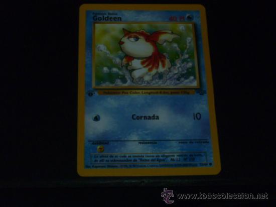 Pokemon Jungle Common Card #53//64 Goldeen
