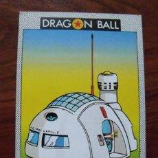 Trading Cards: CROMO Nº60 DRAGON BALL - EDICIONES ESTE (1989) HOI-POI CAPSULE I - CASA CAPSULE CORP. Lote 39831005