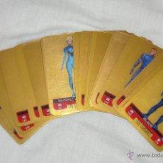 Trading Cards: COLECCIÓN TRADING CARDS MARVEL SUPER HEROES (TODOS LOS SUPERHEROES, EDICION ESPECIAL-ORO).. Lote 20165582