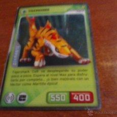 Trading Cards: CROMO INVIZIMALS DESAFIOS OCULTOS DIAMANTE OPACO NO TRANSPARENTE 194 TIGERSHARK. Lote 40702286