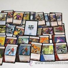 Trading Cards: LOTE DE 78 CARTAS DISTINTAS EN ESPAÑOL VS SYSTEM MARVEL DC. Lote 168513898