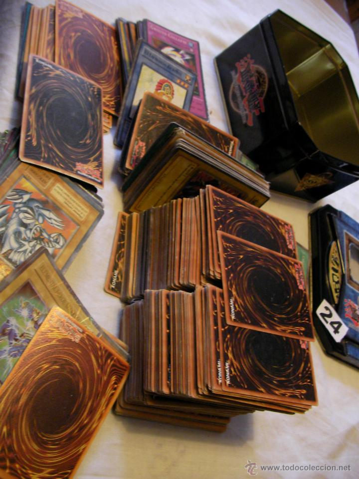 GRAN LOTE DE CARTAS YI GI OH ---- MUCHAAAAAAAAASSSSSSS------- EN SU CAJA (Coleccionismo - Cromos y Álbumes - Trading Cards)