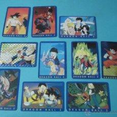 Trading Cards: DIEZ CARTAS DRAGON BALL Z. Nº 66, 67, 69, 70, 71, 72, 75, 76, 78 Y 81. Lote 41515488