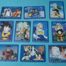 Trading Cards: DIEZ CARTAS DRAGON BALL Z. Nº 24, 26, 28, 29, 31, 35, 38, 39, 40 Y 41. Lote 41515520