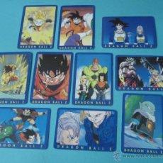 Trading Cards: DIEZ CARTAS DRAGON BALL Z. Nº 4, 10, 13, 14, 15, 17, 19, 21, 22 Y 23. Lote 41515544
