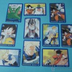 Trading Cards: 9 CARTAS DRAGON BALL Z Nº 85, 86, 87, 88, 90, 92, 93, 195 Y 106 + UNA REPETIDA DE REGALO Nº 106. Lote 41515600