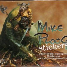 Trading Cards: MIKE PLOOG STICKERS - CARD BOX (FPG,1996) - CAJA DE 24 SOBRES. Lote 42173459