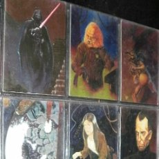 Trading Cards: STAR WARS FINEST LOTE PACK DE 51 CARTAS EN INGLÉS. Lote 42384053