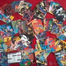 Trading Cards: BATMAN SAGA OF THE DARK KNIGHT SKYBOX TRADING CARDS SET 100 CARTAS CROMOS COMPLETA 1994 DC. Lote 42693700
