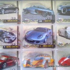 Trading Cards: LOTE DE MAS DE 100 LAMINCARDS CROMOS CARTAS CYSTALCARS CRYSTAL CARS COCHES, TAMBIÉN SUELTOS. Lote 42964886