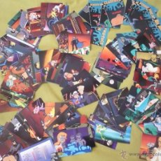 Trading Cards: BATMAN AND ROBIN ADVENTURES OF 1995 TRADING CARDS CROMOS SET 90 CARTAS DC COMPLETA + 12 POP-UPS. Lote 43035351