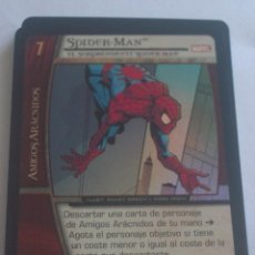 Trading Cards: VS SYSTEM - MSM 008 - WEB DE SPIDERMAN MARVEL - ESPAÑOL - FOIL - SPIDER-MAN - RARA. Lote 43139794