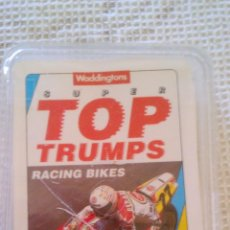 Trading Cards: CARTAS DE RACING BIKES. SUPER TOP TRUMPS. WADDINTONS. Lote 43586142