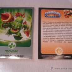 Trading Cards: SKYLANDERS GIANTS - TOPPS - LOTE DE 153 CARDS DIFERENTES + 4 REPES DE REGALO -. Lote 44437147