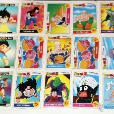 Trading Cards: DRAGON BALL Z , 21 COMBAT CARDS. Lote 45831477