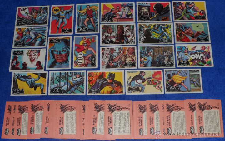 Trading Cards: Batman Black Bat - Orange Back - Topps (1966) ¡Colección completa! - Foto 1 - 46552118