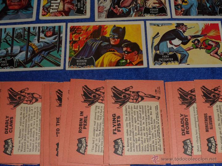 Trading Cards: Batman Black Bat - Orange Back - Topps (1966) ¡Colección completa! - Foto 2 - 46552118
