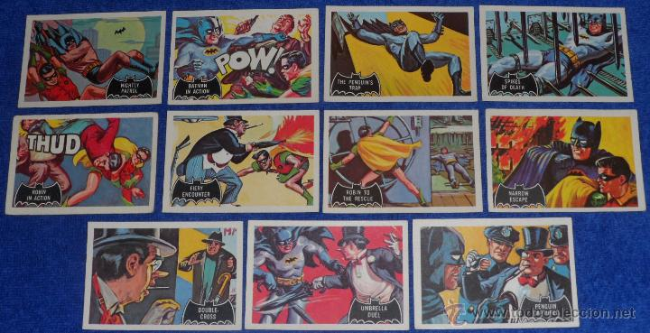 Trading Cards: Batman Black Bat - Orange Back - Topps (1966) ¡Colección completa! - Foto 4 - 46552118