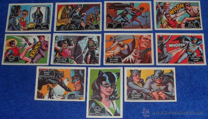 Trading Cards: Batman Black Bat - Orange Back - Topps (1966) ¡Colección completa! - Foto 5 - 46552118