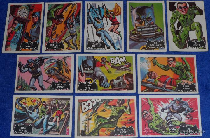 Trading Cards: Batman Black Bat - Orange Back - Topps (1966) ¡Colección completa! - Foto 7 - 46552118
