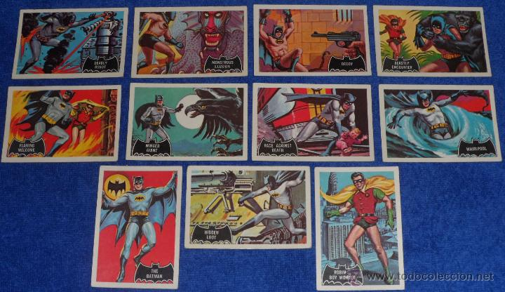Trading Cards: Batman Black Bat - Orange Back - Topps (1966) ¡Colección completa! - Foto 8 - 46552118