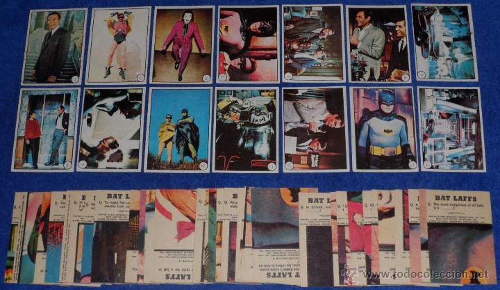 BATMAN - BAT LAFFS - TOPPS (1966) ¡CASI COMPLETA! (Coleccionismo - Cromos y Álbumes - Trading Cards)