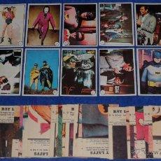 Trading Cards: BATMAN - BAT LAFFS - TOPPS (1966) ¡CASI COMPLETA!. Lote 46552173