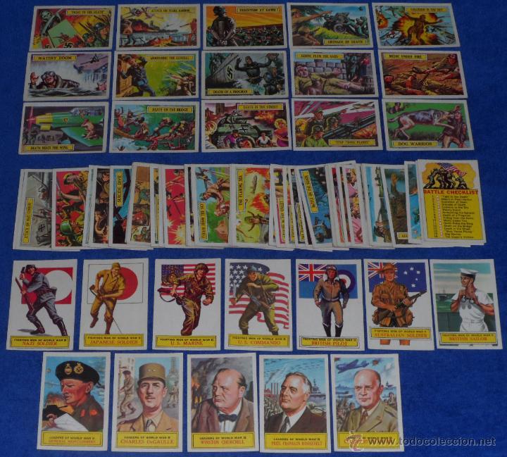 BATTLE - A&BC (1965) ¡COLECCIÓN COMPLETA! (Coleccionismo - Cromos y Álbumes - Trading Cards)