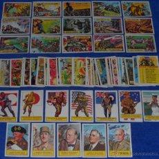 Trading Cards: BATTLE - A&BC (1965) ¡COLECCIÓN COMPLETA!. Lote 46584076