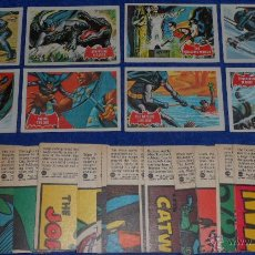 Trading Cards: BATMAN RED BAT - PUZZLE BACK - TOPPS (1966) ¡COLECCIÓN COMPLETA!. Lote 46622042