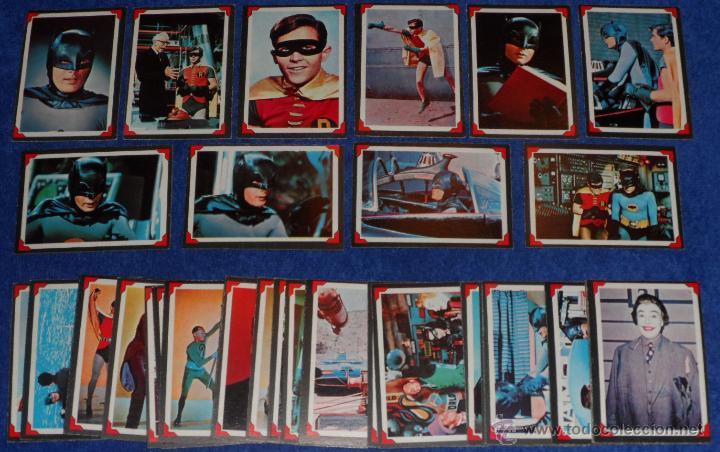 BATMAN - RIDDLER BACK - A&BC (1966) ¡COLECCIÓN CASI COMPLETA! (Coleccionismo - Cromos y Álbumes - Trading Cards)