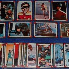 Trading Cards: BATMAN - RIDDLER BACK - A&BC (1966) ¡COLECCIÓN CASI COMPLETA!. Lote 46622952