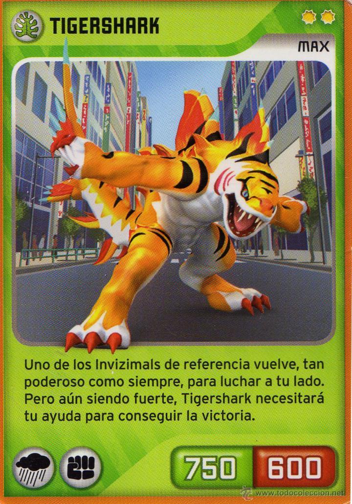 C tc invizimals n 117 tigershark max de l vendido en venta directa 46995058 - Tigershark invizimals ...