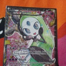 Trading Cards: POKEMON CARD CARTA MELOETTA EX RC25/RC25 RADIANT COLECTION NM ENGLISH HOLO LEGEND. Lote 47112479