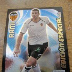 Trading Cards: CROMO/TARJETA ADRENALYN XL 2011 2012 EDICION ESPECIAL RAMI DEL VALENCIA. Lote 47176166