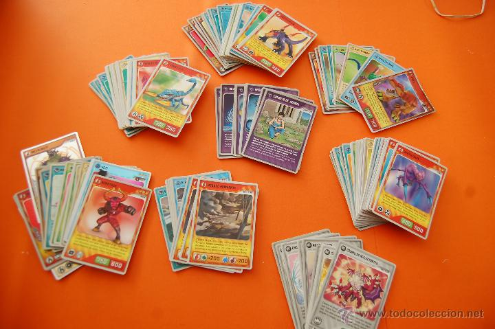 LOTE DE 133 CROMOS INVIZIMALS TODOS DISTINTOS - COLT, L MAX, MAX, PUP, AMIGO Y EQUIPO CAZADOR,VECTOR (Coleccionismo - Cromos y Álbumes - Trading Cards)