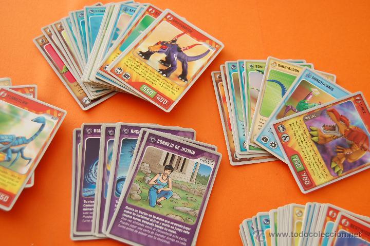 Trading Cards: LOTE DE 133 CROMOS INVIZIMALS TODOS DISTINTOS - COLT, L MAX, MAX, PUP, AMIGO Y EQUIPO CAZADOR,VECTOR - Foto 2 - 47346138